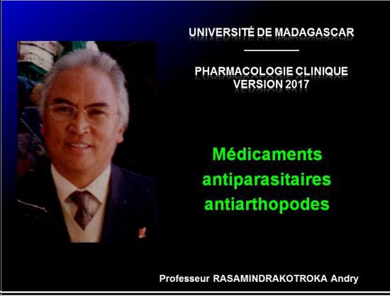 Antiparasitaires antiarthropodes 1