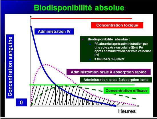 Biodisponiblité et bioéquivalence des médicaments 23