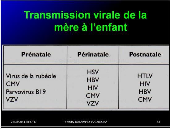 Evolution des virus dans l'organisme 10