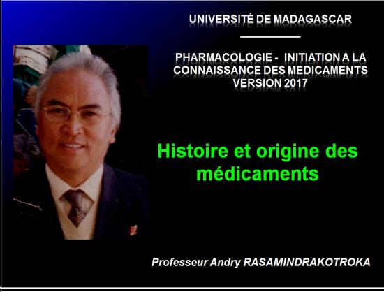 Histoire médicaments 1