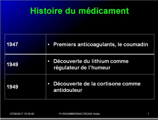 Histoire médicaments 7