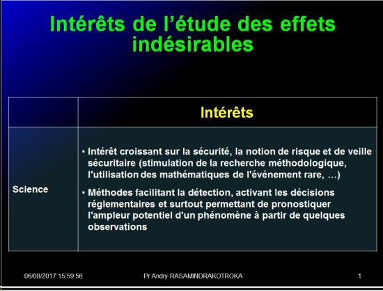 Iatrogénie - Effets indésirables des médicaments 13