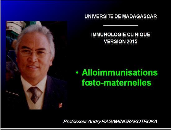 Images sélectionnées alloimmunisations foetomaternelles1