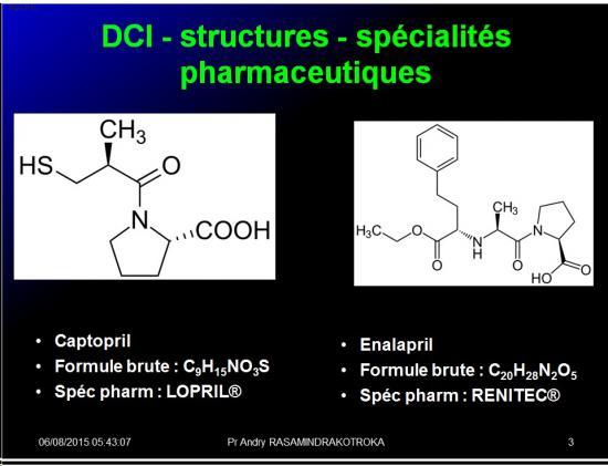 Images sélectionnées IEC et inhibiteurs AT1 3