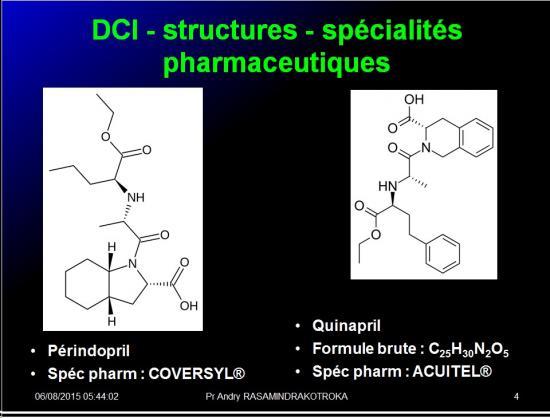 Images sélectionnées IEC et inhibiteurs AT1 4