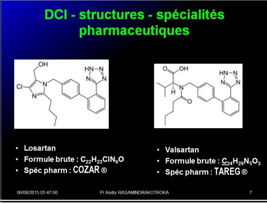 Images sélectionnées IEC et inhibiteurs AT1 7