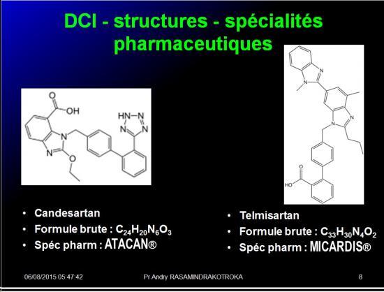 Images sélectionnées IEC et inhibiteurs AT1 8