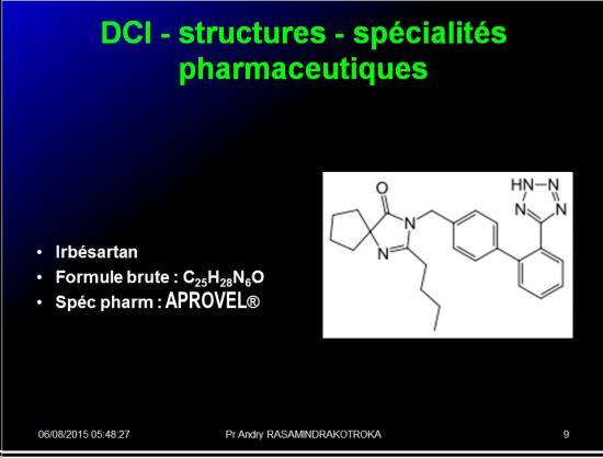 Images sélectionnées IEC et inhibiteurs AT1 9