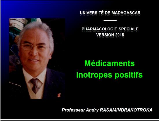 Images sélectionnées Médicaments inotropes positifs1