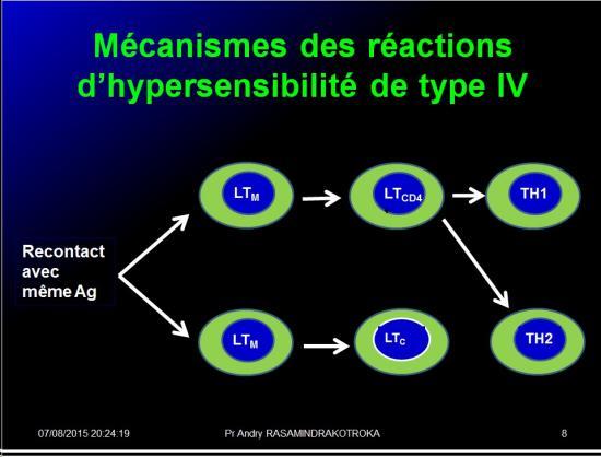 Images sélectionnées réactions d'hypersensibilité9