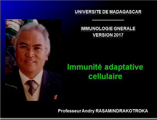 Immunité adaptative 1