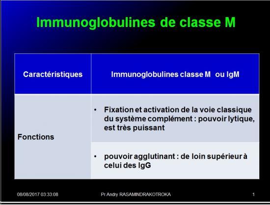 Immunoglobulines 18