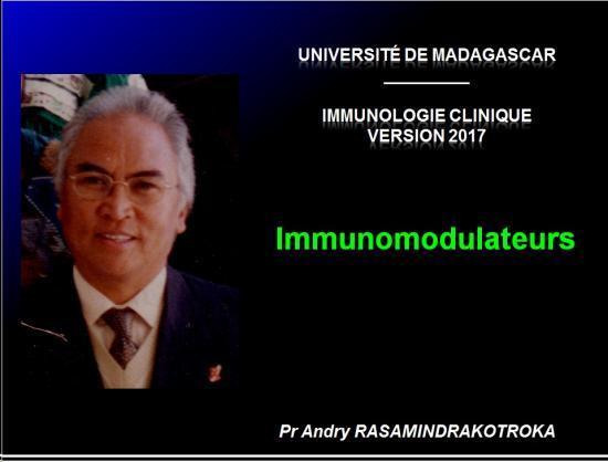 Immunomodulateurs 1