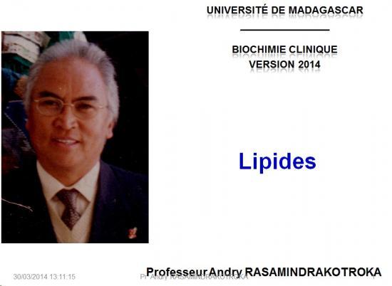 Lipides 1