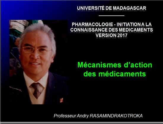 Mécanismes d'action des médicaments 1