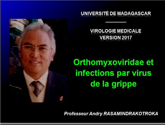 Orthomyxoviridae et infections par virus de la grippe 1