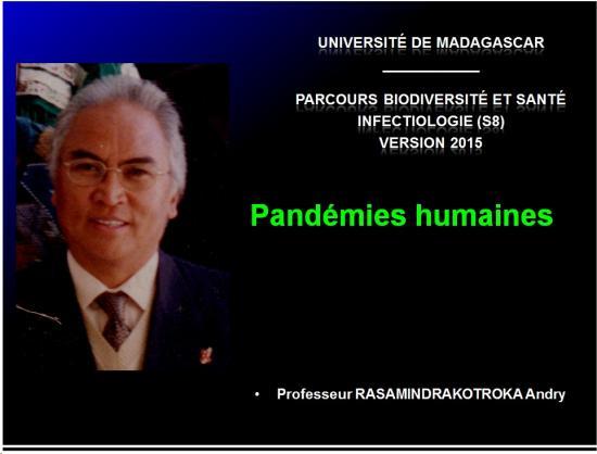 Pandémies humaines 1