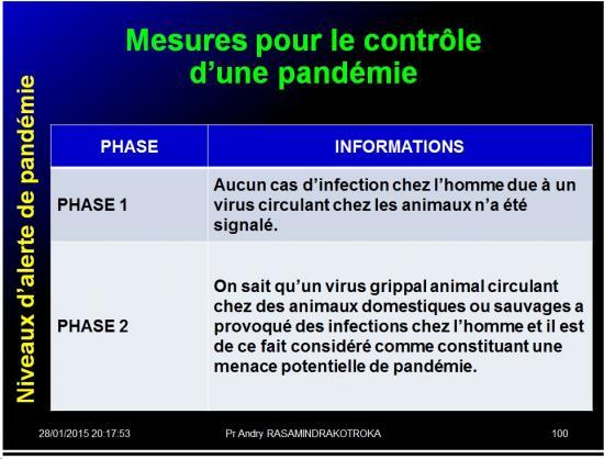 Pandémies humaines 42