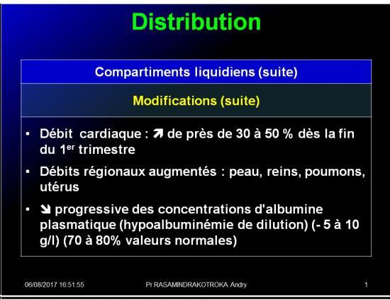 Pharmacologie de la femme enceinte 12