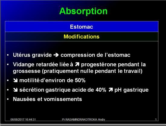 Pharmacologie de la femme enceinte 2