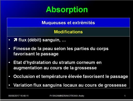 Pharmacologie de la femme enceinte 7