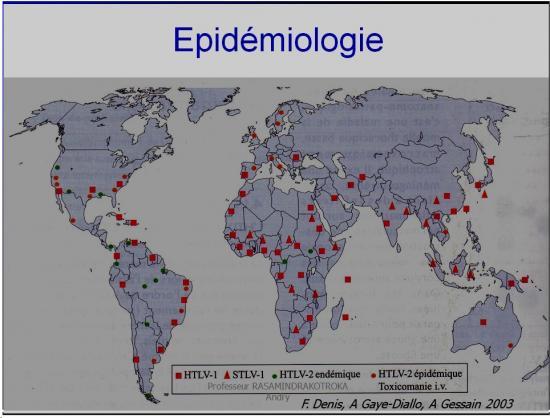 Retroviridae et infections par HTLV et VIH 35