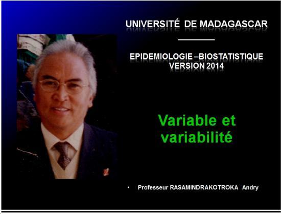 Variable - variabilité1