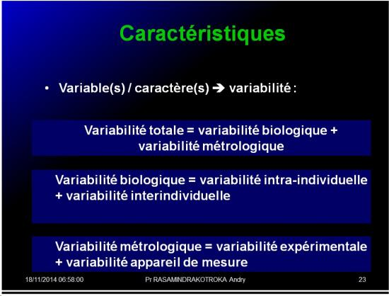 Variable - variabilité7